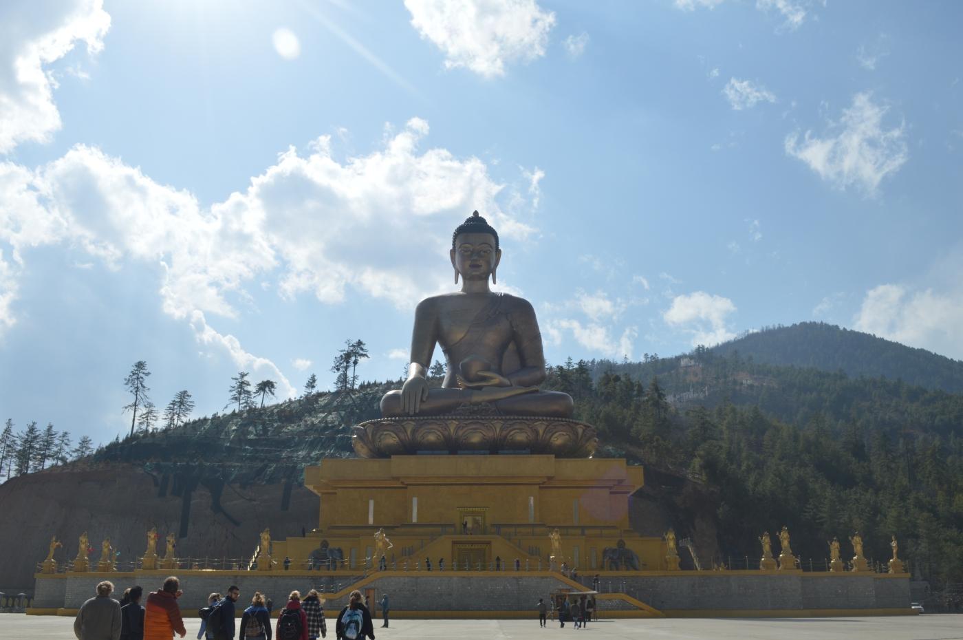 bhutan, nature, afurthershore, blog, altruism, troy-wilkinson, thoughtful, Buddha Point, monument, meditation, mindfulness